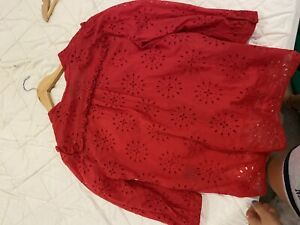 Scanlan Theodore red top size 8