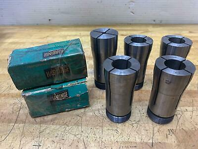 5 Nice Hardinge 2j 1 Collets 1 2j-en1 Emergency Collet Cnc Lathe Chuck