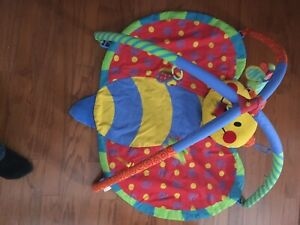 Butterfly Infant Play Matt - Great Condition!