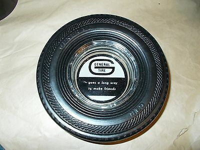 VINTAGE GENERAL POWER JET TIRE ASHTRAY TIRE IS SOFT