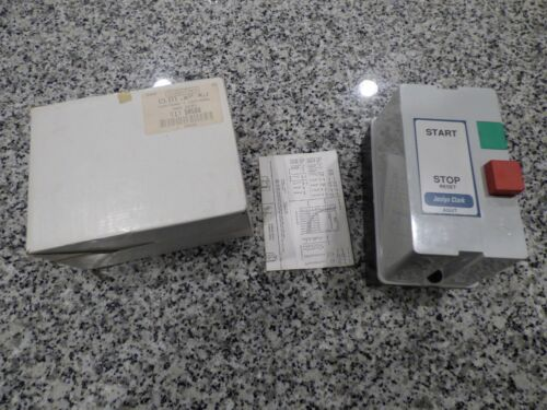 NEW ~ NOS~ JOSLYN CLARK AGUT CL-01.AP-KJ ENCLOSED START/STOP MOTOR STARTER