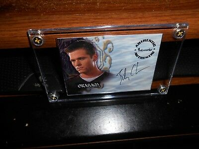 BUFFY THE VAMPIRE AUTOGRAPH CARD A27 BAIEY CHASE AS GRAHAM NEW 4/SCREW FREE SHIP