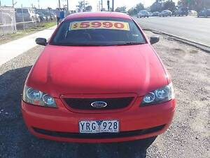 2004 Ford Falcon Ute Ferntree Gully Knox Area Preview
