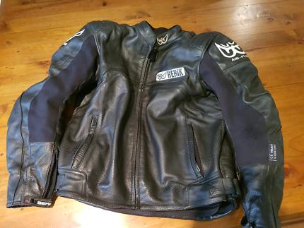 Motorcycle leather Jacket Berik Airflow  size 54