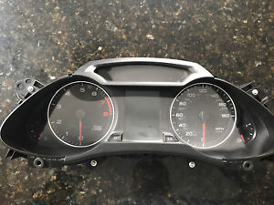 Audi A4 B8 2009 used cluster