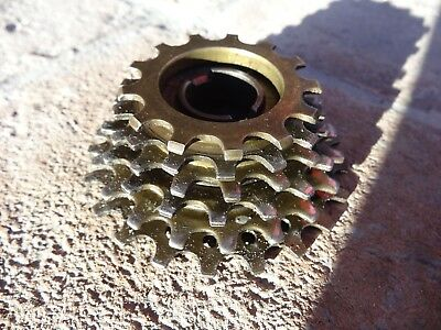 Suntour Nwn New Winner Freewheel 6 Speed 13-21 Cogs Vintage Eroica Gear Cluster Sporting Goods