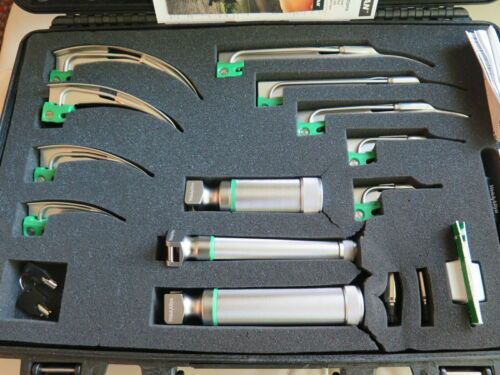 Welch Allyn MIL5062 Comprehensive Laryngoscope Kit - NEW