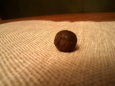 RARE/1748 CASE SHOT IRON BALL FROM DUTCH EAST INDIAMAN AMSTERDAM SHIPWRECK/NAVY