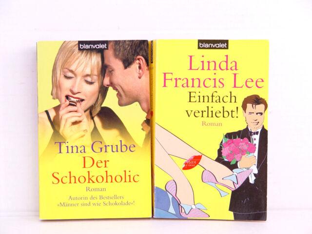 Romane 2x Einfach verliebt! Francis Lee / Der Schokoholic, Tina Grube