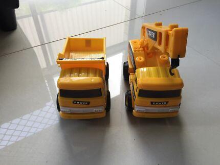 2x boy truck toys  Dakabin Pine Rivers Area Preview