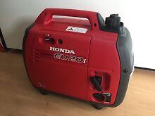 Honda EU 20i Petrol Inverter Generator (2kVa) Brunswick East Moreland Area Preview