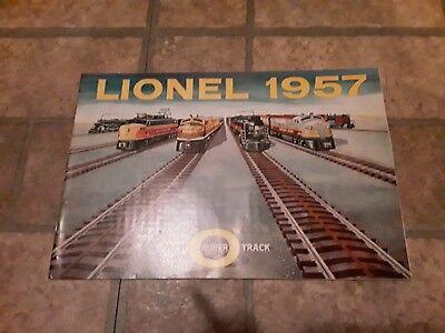 "1956 Lionel Train Advertising Brochure ""O"" New Super Track"