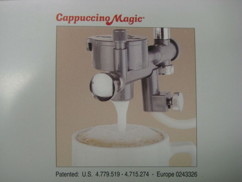 FAEMA CAPPUCCINO MAGIC milk frothing device