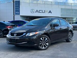 2014 Honda Civic EX | 1OWNER | ONLY17000KM | TINT | SUNROOF