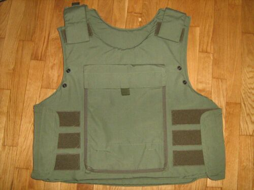 Carrier of protective vest without of soft armour