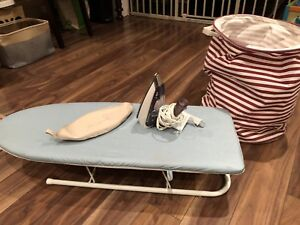 FREE mini iron & board, hampers-good for apartment/dorm/baby RM