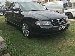 Audi A4 Quattro turbo AWD 1 owner  FULL logbook history 4 months rego Revesby Heights Bankstown Area Preview