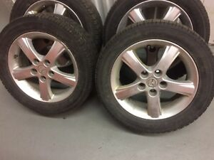 4 Toyo winter tires with Mazda 3 mags:205/55R16