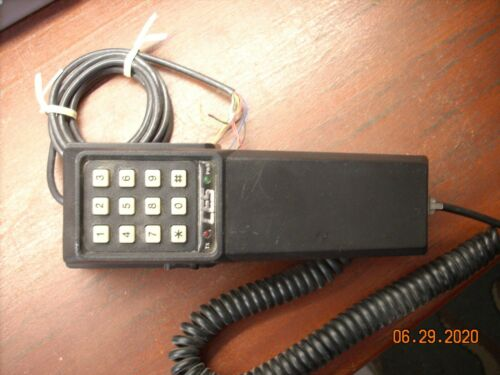 Vintage Two-Way Radio Coiled Telephone Handset .