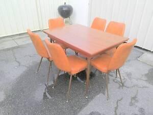 Retro 7 Piece Dining Suite Cloverdale Belmont Area Preview