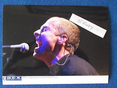 "Original Press Photo - 8""x6"" - Coldplay - Chris Martin - 2003 - F"