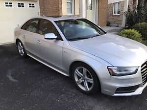 2013 Audi A4 S-Line Premium Silver Great Condition 75k km