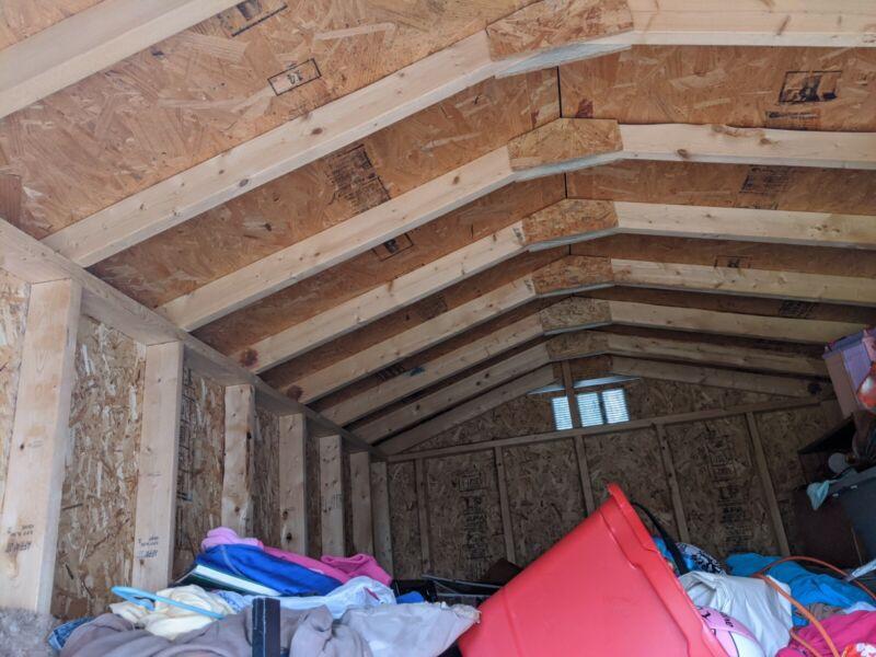 Eagle barn storage building