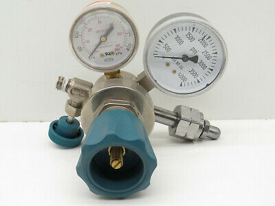 Airgas Y11-215a Single Stage Gas Cylinder Regulator 3500psi