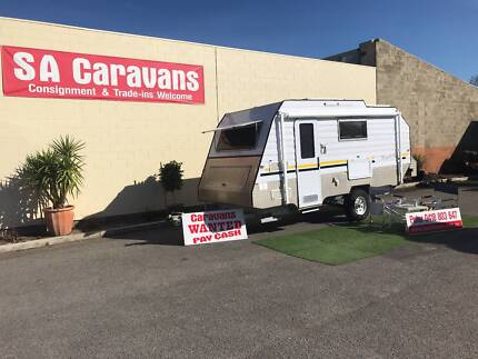 "2011 DESERT SKY ""TRACKER"" OFF-ROAD CARAVAN Hampstead Gardens Port Adelaide Area Preview"