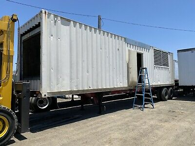 900 Kw Detroit Diesel Generator Set