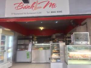 Bakery for Sale in Burwood Burwood Burwood Area Preview