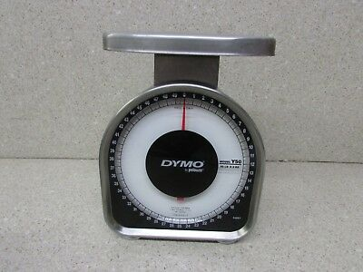 Dymo By Pelouze Heavy Duty Mechanical Package Scale 50 Lb Capacity Y50