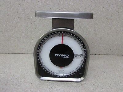 Dymo By Pelouze Heavy Duty Mechanical Package Scale 50 Lb Capacity Y50
