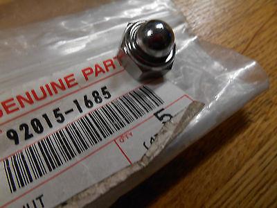 Kawasaki,92015 1685, Shock absorber nut 10mm, EN VN , NOS