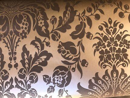 Wallpaper chocolate textured design