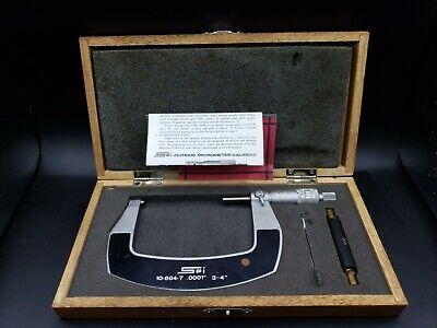 Spi Outside Micrometer 3-4 10-604-7 .0001