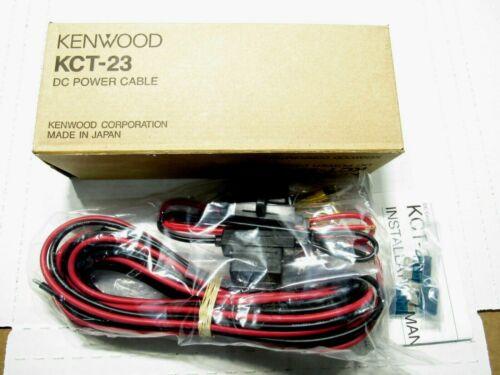 NEW Kenwood KCT-23 DC Power Cable Ham Radio 17