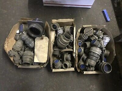 Huge Lot Of Cannon Bendix  Amphenol Multi Pin Connector All One Price