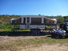 OFF ROAD DUAL WHEEL ROCKWOOD FREEDOM CAMPER TOY HAULER Currambine Joondalup Area Preview