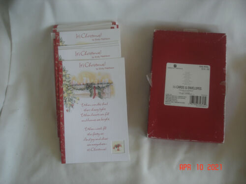 LOT 25 AMERICAN GREETINGS Emily Matthews MOMENTS of INSPIRATION CHRISTMAS CARDS