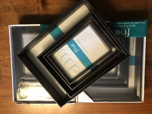 3 Matching Sets of 4 Picture Frames