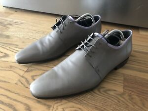 Hugo Boss lambskin Oxford dress shoes