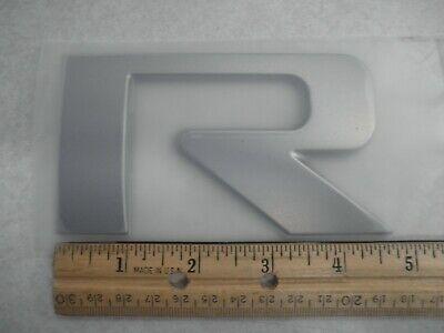 """New OEM Bayliner Raised Letter """"R"""" Decal Emblem - Part 1938730"""