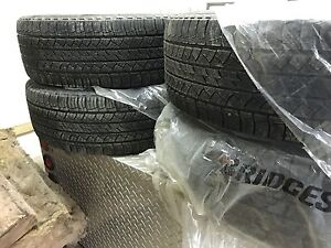 Micheline Latitude tires - 255/65R18