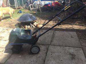 Yard works rototiller