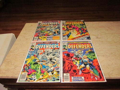 The Defenders #47-50 (4 issue run) Mid-High Grade.