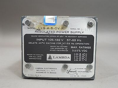 Lambda Lxs-a-5-ov-r Regulated Power Supply - Used