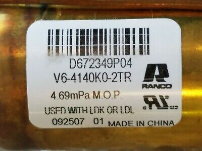 Ranco Trane Heat Pump Reversing Valve Val08548 - New In Box Free Shipping