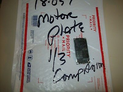 Companion 13 Hp Motor Plate Worn 12 Sears Craftsman Metal Lathe 101.07380