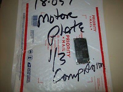 Companion 13 Hp Motor Plate Worn 12 Sears Craftsman Metal Lathe 101.07380